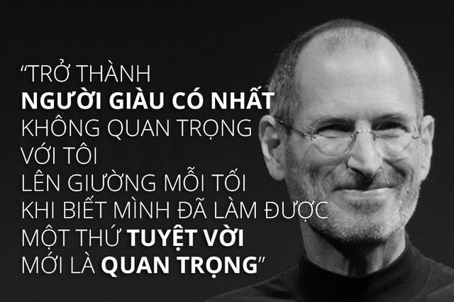 Steve Jobs: Nếu muốn thành công đừng để tiền bạc chi phối cuộc sống, hãy yêu lấy những gì bạn làm - Ảnh 1.