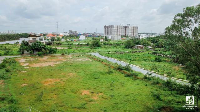 Cận cảnh dự án khu dân cư Bắc Rạch Chiếc bỏ hoang gần 20 năm ở trung tâm TP.HCM - Ảnh 6.