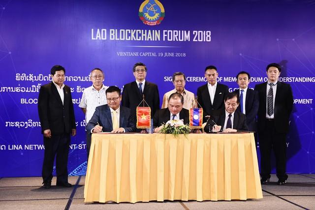 Lào thúc đẩy xây dựng chính phủ vận hành bằng blockchain đầu tiên ở Đông Nam Á - Ảnh 1.