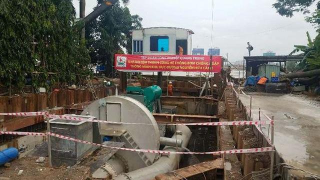 Đề xuất chống ngập sân bay Tân Sơn Nhất bằng máy bơm siêu khủng  - Ảnh 1.
