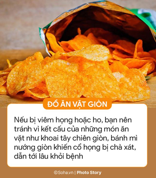 Những thực phẩm không nên ăn khi bị ốm: Mọi người sai lầm dùng 2 thứ, bệnh mãi không khỏi - Ảnh 6.