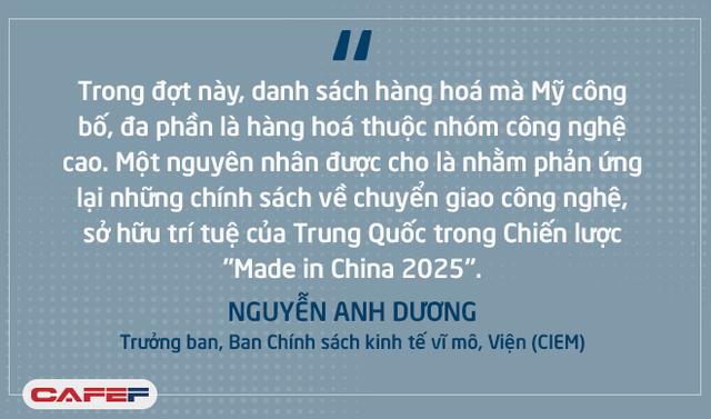 Chiến tranh thương mại Mỹ - Trung Quốc ảnh hưởng tới Việt Nam: Tác động trực tiếp chưa nhiều nhưng gián tiếp rất khó lường! - Ảnh 1.