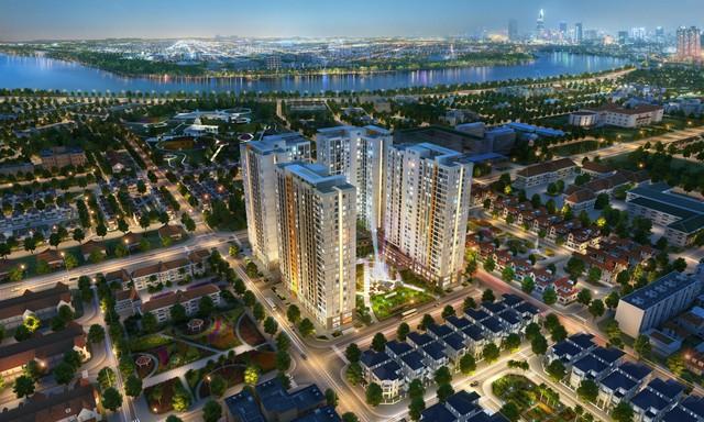 Thị trường căn hộ cao tầng khu Đông TP.HCM: Khan hàng mới, giá biến động mạnh - Ảnh 1.