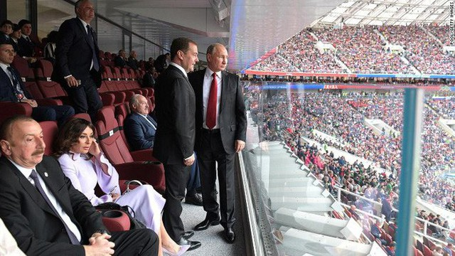 Ông Putin vẫn thắng đậm về ngoại giao, dù World Cup 2018 vắng bóng lãnh đạo phương Tây - Ảnh 2.