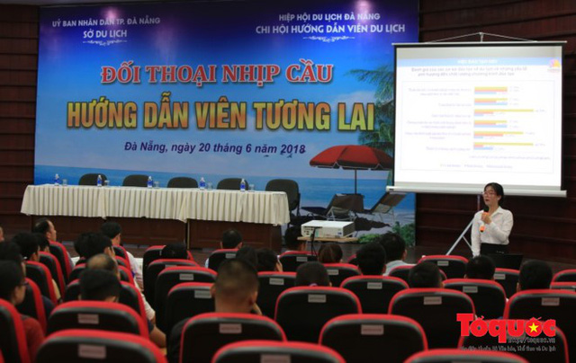 Đà Nẵng thiếu trầm trọng hướng dẫn viên du lịch - Ảnh 1.