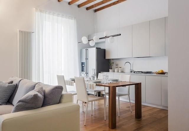 Thiết kế căn hộ cao tầng theo phong cách tiên tiến - Ảnh 4.