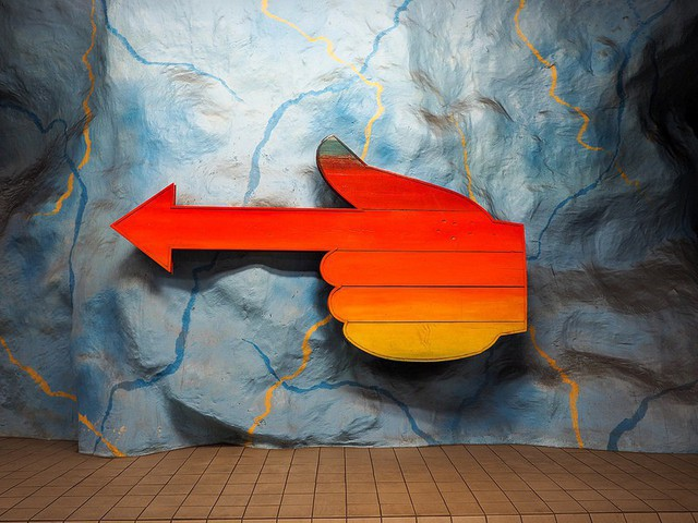 Bên trong những ga tàu điện ngầm đẹp hơn cả triển lãm nghệ thuật tại Thụy Điển - Ảnh 7.