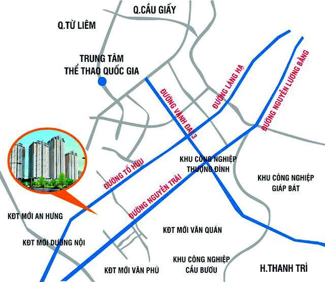 Văn Phú Invest (VPI) chính thức có dự án đất vàng 3,5ha ở quận Hà Đông - Ảnh 1.