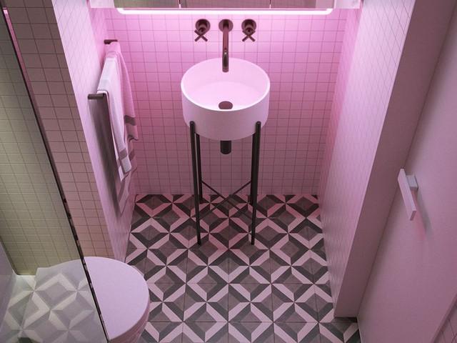 Căn hộ 23 m2 kiến trúc theo phong một vàih tối giản - Ảnh 8.