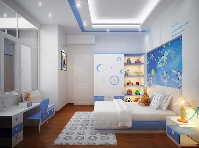 Những điều cần lưu ý khi thiết kế nội thất phòng ngủ trẻ em - Ảnh 1.