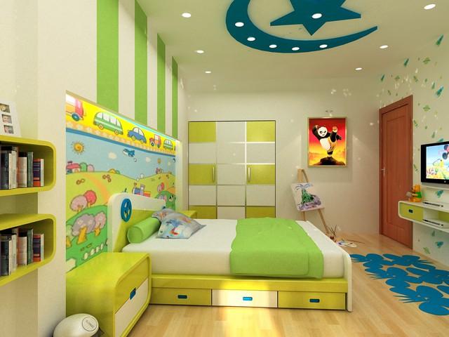 Những điều cần lưu ý khi thiết kế nội thất phòng ngủ trẻ em - Ảnh 4.
