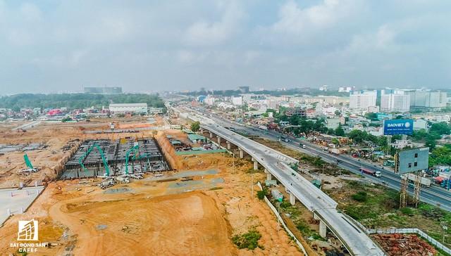 Những hình ảnh mới nhất về Dự án Bến xe miền Đông mới 4.000 tỷ đồng làm mãi không xong - Ảnh 2.