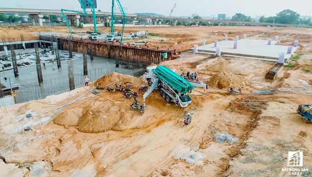 Những hình ảnh mới nhất về Dự án Bến xe miền Đông mới 4.000 tỷ đồng làm mãi không xong - Ảnh 6.