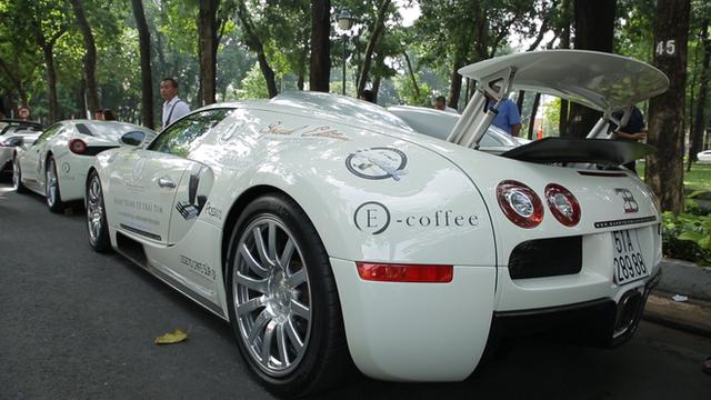 Dàn siêu xe Bugatti, Lamborghini trong Hành trình từ trái tim sẽ ra tới miền Bắc ngày 10/7 - Ảnh 1.