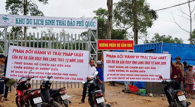 Băm nát Phú Quốc: Yêu cầu công ty trả một số con phố xuống biển cho dân - Ảnh 1.