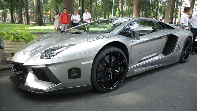 Dàn siêu xe Bugatti, Lamborghini trong Hành trình từ trái tim sẽ ra tới miền Bắc ngày 10/7 - Ảnh 3.