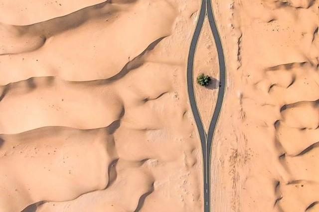 Ngỡ ngàng trước cảnh các con đường UAE ngập chìm trong cát sa mạc - Ảnh 8.