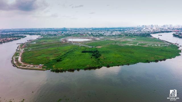 Ngổn ngang dự án khu thành thị 2 tỷ đô ven bờ sông đẹp nhất Sài Gòn sau gần 10 năm đầu tư - Ảnh 3.