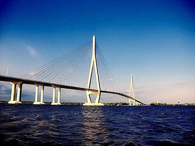 Hơn 5.100 tỉ đồng xây cầu Mỹ Thuận 2 - Ảnh 1.