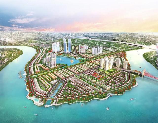 Ngổn ngang dự án khu thành thị 2 tỷ đô ven bờ sông đẹp nhất Sài Gòn sau gần 10 năm đầu tư - Ảnh 1.