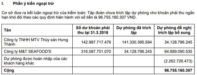 Hùng Vương (HVG) lỗ ròng thêm 208 tỷ đồng sau soát xét, kiểm toán nghi ngờ khả năng hoạt động liên tục - Ảnh 1.
