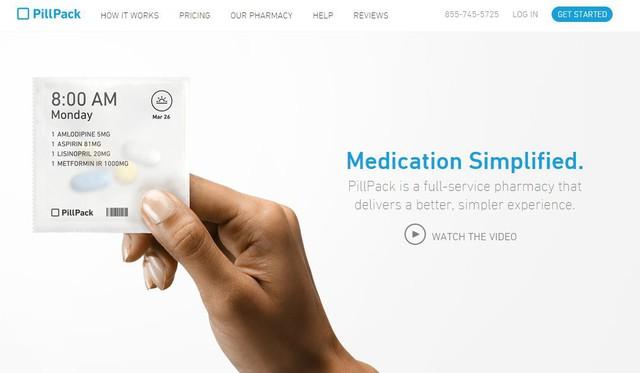 Amazon làm náo loạn lĩnh vực kinh doanh dược phẩm với thương vụ mua lại Pillpack - Ảnh 1.