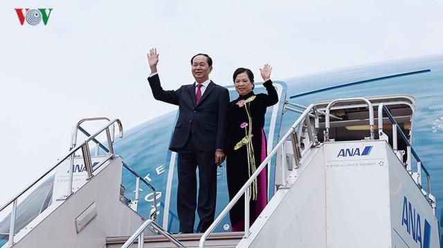 Toàn cảnh chuyến thăm cấp Nhà nước của Chủ tịch nước tới Nhật Bản - Ảnh 1.