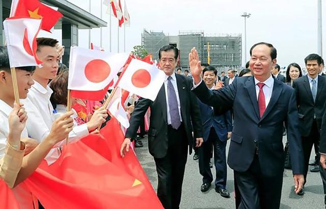 Toàn cảnh chuyến thăm cấp Nhà nước của Chủ tịch nước tới Nhật Bản - Ảnh 2.