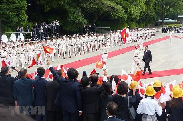 Toàn cảnh chuyến thăm cấp Nhà nước của Chủ tịch nước tới Nhật Bản - Ảnh 12.