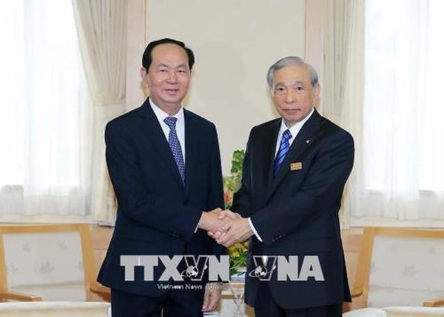 Toàn cảnh chuyến thăm cấp Nhà nước của Chủ tịch nước tới Nhật Bản - Ảnh 3.