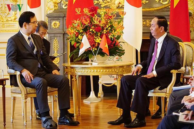Toàn cảnh chuyến thăm cấp Nhà nước của Chủ tịch nước tới Nhật Bản - Ảnh 21.