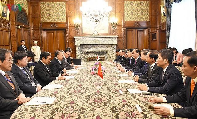 Toàn cảnh chuyến thăm cấp Nhà nước của Chủ tịch nước tới Nhật Bản - Ảnh 33.