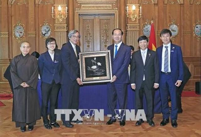 Toàn cảnh chuyến thăm cấp Nhà nước của Chủ tịch nước tới Nhật Bản - Ảnh 40.