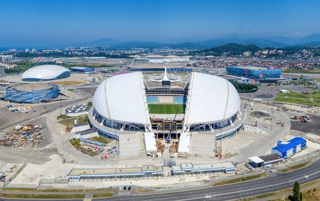 12 sân vận động phục vụ World Cup 2018 nhìn từ vệ tinh - Ảnh 5.