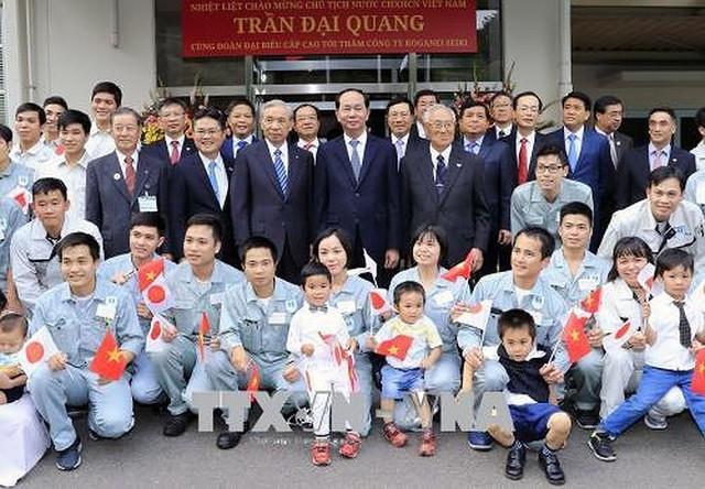 Toàn cảnh chuyến thăm cấp Nhà nước của Chủ tịch nước tới Nhật Bản - Ảnh 6.