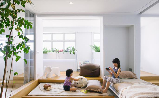 Học cách thiết kế không gian siêu tiện nghi cho gia đình có con nhỏ - Ảnh 8.