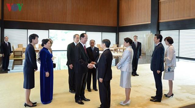 Toàn cảnh chuyến thăm cấp Nhà nước của Chủ tịch nước tới Nhật Bản - Ảnh 10.