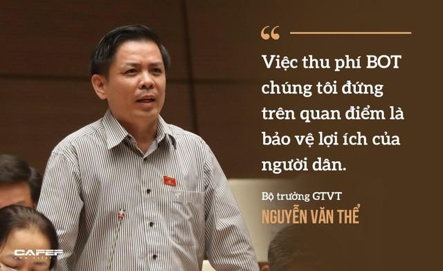Những màn hỏi đáp làm nóng nghị trường của Bộ trưởng Nguyễn Văn Thể  - Ảnh 4.