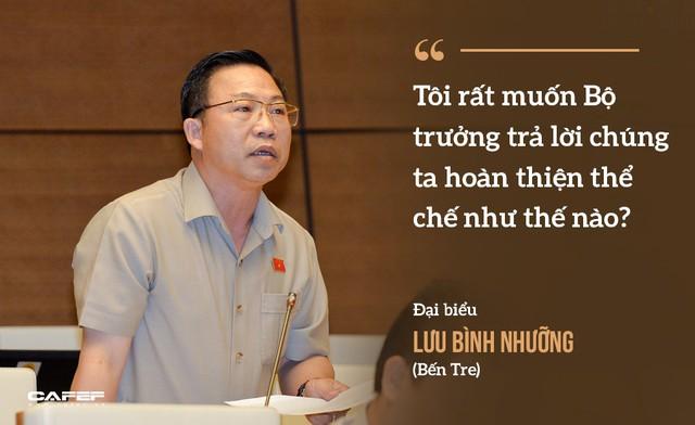 Những màn hỏi đáp làm nóng nghị trường của Bộ trưởng Nguyễn Văn Thể  - Ảnh 8.