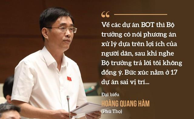 Những màn hỏi đáp làm nóng nghị trường của Bộ trưởng Nguyễn Văn Thể  - Ảnh 6.