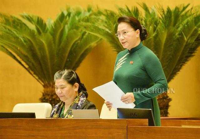 Bộ trưởng Nguyễn Văn Thể trả lời chất vấn - Ảnh 1.