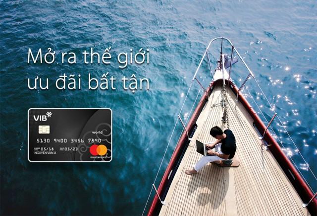 VIB ra mắt dòng thẻ tín dụng cao cấp  VIB World MasterCard  - Ảnh 1.