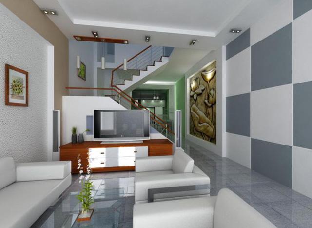 Những ý tưởng kiến trúc nội khu xe nhà ống đẹp - Ảnh 3.