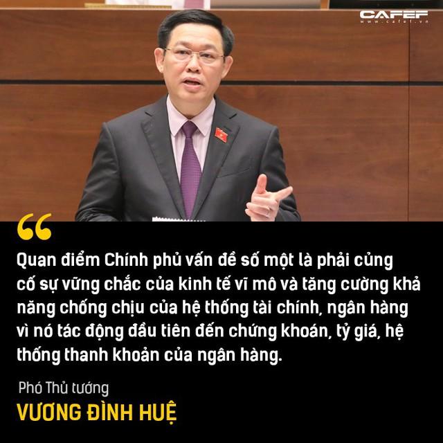 Phần trả lời chất vấn đáng chú ý nhất của Phó Thủ tướng Vương Đình Huệ tại Nghị trường - Ảnh 2.