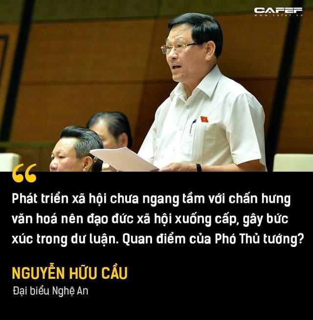 Phần trả lời chất vấn đáng chú ý nhất của Phó Thủ tướng Vương Đình Huệ tại Nghị trường - Ảnh 3.