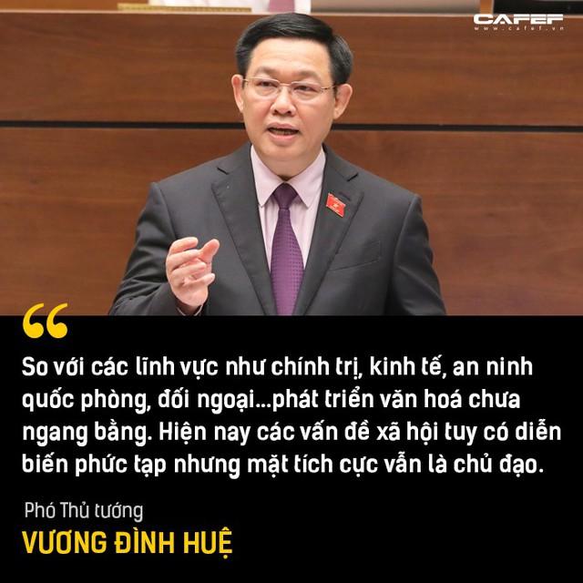 Phần trả lời chất vấn đáng chú ý nhất của Phó Thủ tướng Vương Đình Huệ tại Nghị trường - Ảnh 4.