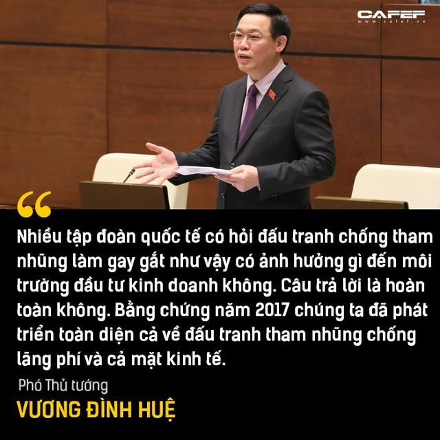 Phần trả lời chất vấn đáng chú ý nhất của Phó Thủ tướng Vương Đình Huệ tại Nghị trường - Ảnh 6.