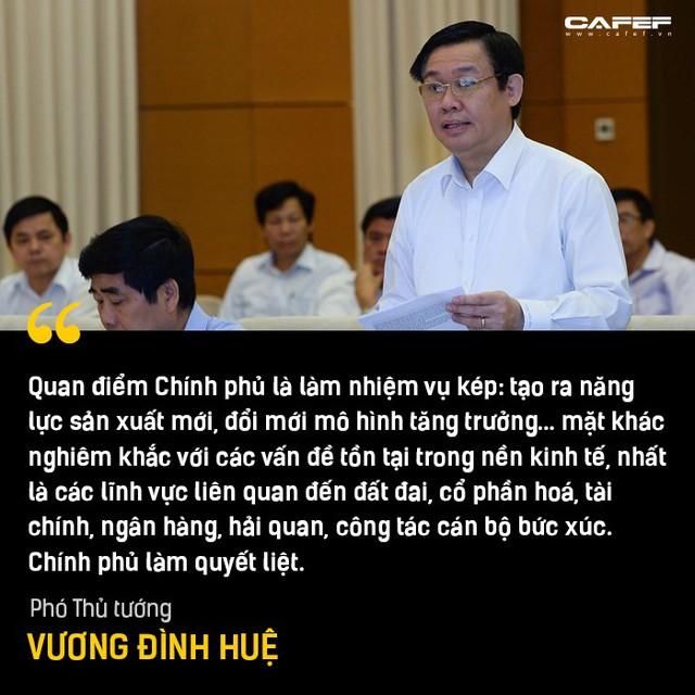 Phần trả lời chất vấn đáng chú ý nhất của Phó Thủ tướng Vương Đình Huệ tại Nghị trường - Ảnh 7.