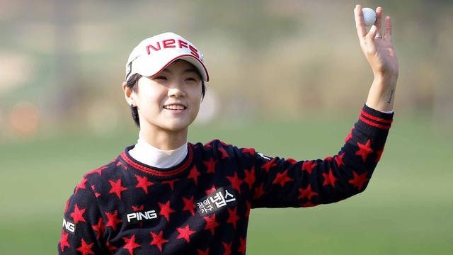 Hậu phương vững chắc đằng sau ánh hào quang của nữ hoàng mới của làng golf thế giới  - Ảnh 3.