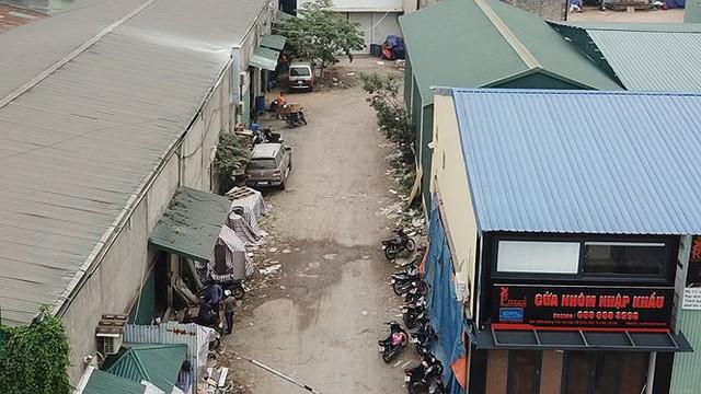 Hàng nghìn mét vuông nhà xưởng không phép vô tư tồn tại giữa Thủ đô - Ảnh 9.